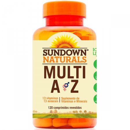 Multivitamínico Sundown Multi A-Z