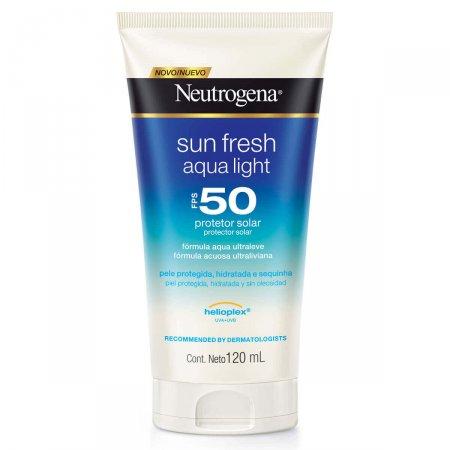Protetor Solar Corporal Neutrogena Sun Fresh Aqua Light FPS50