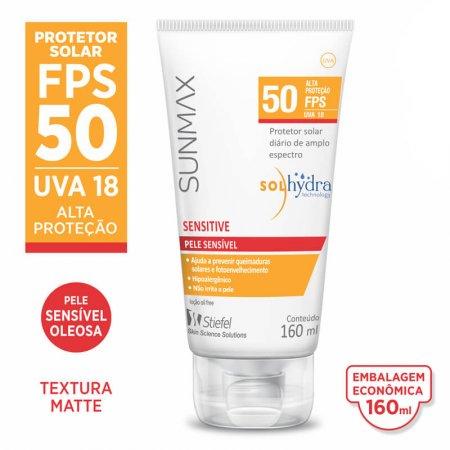 Protetor Solar Sunmax Sensitive FPS50