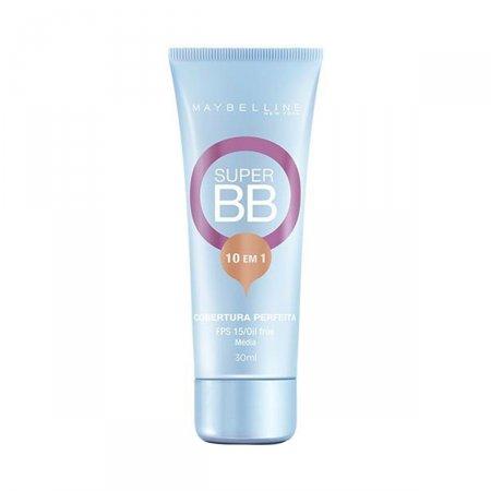 Super BB Cream Maybelline FPS15 Cor Média