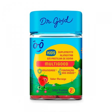 Suplemento Alimentar Dr. Good Multigood Kids