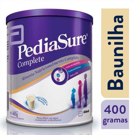 Suplemento Alimentar em Pó Pediasure Sabor Baunilha com 400g