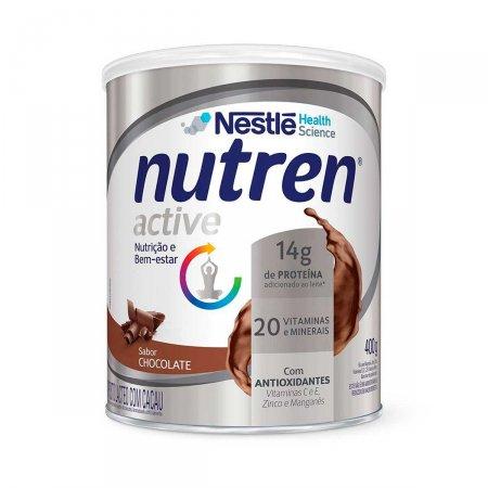 Suplemento Alimentar Nutren Active Chocolate com 400g