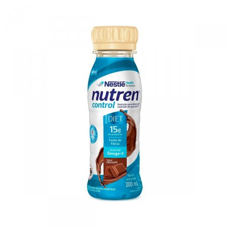 Suplemento Alimentar Nutren Control Chocolate com 200ml Foto 1