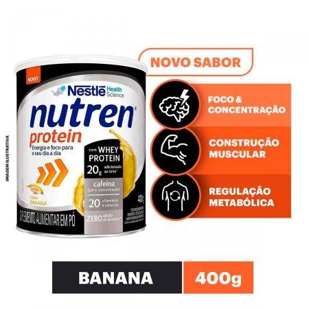 Suplemento Alimentar Nutren Protein Banana com 400g | Foto 2