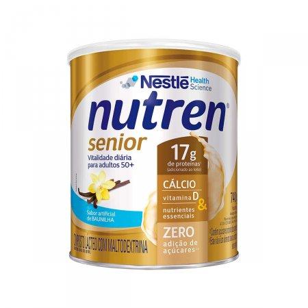 Suplemento Alimentar Nutren Senior Sabor Baunilha