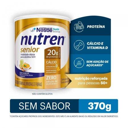 Suplemento Alimentar Nestlé Nutren Senior Sem Sabor com 370g
