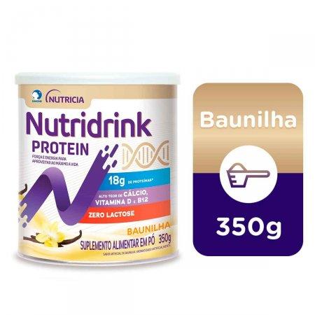 Suplemento Alimentar Nutridrink Protein Baunilha com 350g