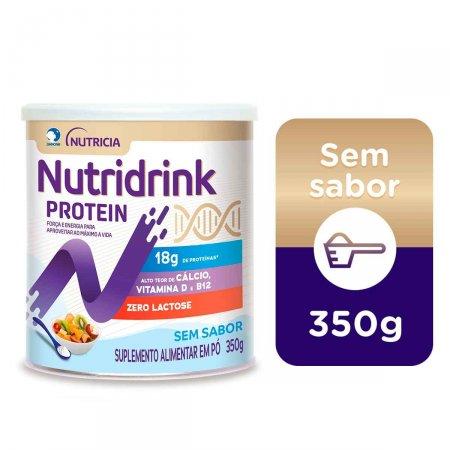 Suplemento Alimentar Nutridrink Protein Sem Sabor com 350g