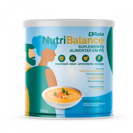 Suplemento Alimentar em Pó Nutri Balance Raia Sem Sabor com 380g
