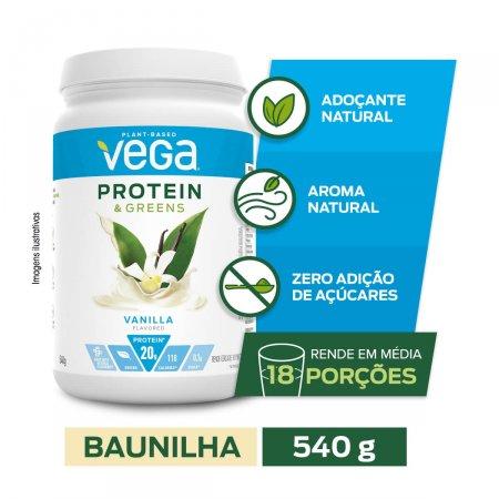 Suplemento Alimentar Vega Protein Sabor Baunilha