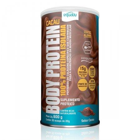 Suplemento Proteico Body Protein Equaliv Cacau 600g