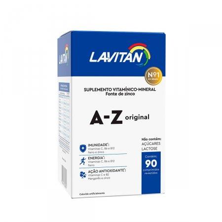 Suplemento Vitamínico Lavitan A-Z Homem com 90 comprimidos