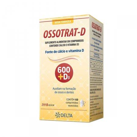 Suplemento Vitamínico Ossotrat-D com 60 Comprimidos