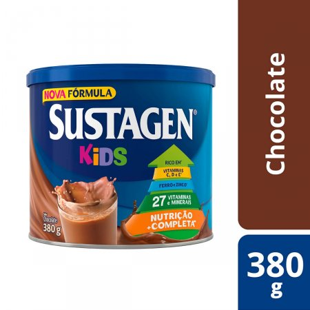 Complemento alimentar infantil Sustagen Kids Chocolate