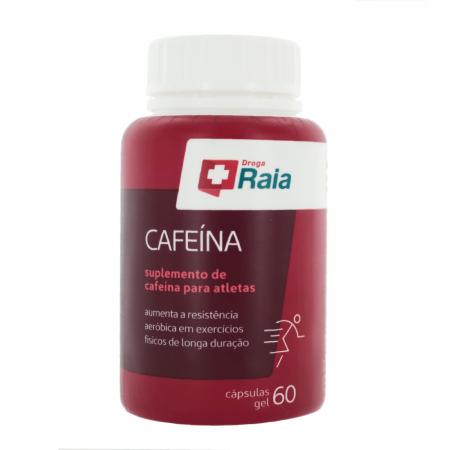 Suplemento de Cafeína Droga Raia com 60 cápsulas
