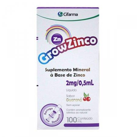 Suplemento Mineral Grow Zinco