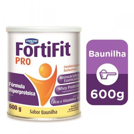 Suplemento Nutricional Fortifit PRO Sabor Baunilha com 600g