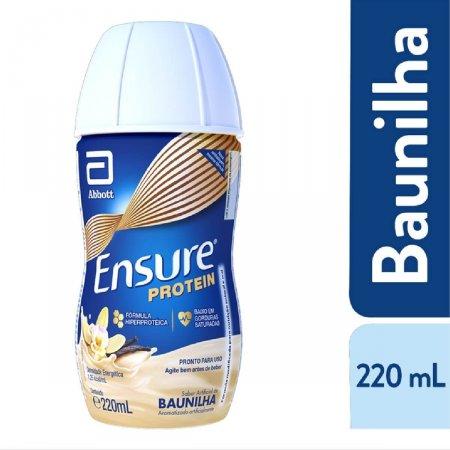 Suplemento Nutricional Ensure Protein Sabor Baunilha com 220ml