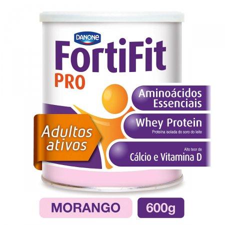Suplemento Nutricional Fortifit PRO Sabor Morango