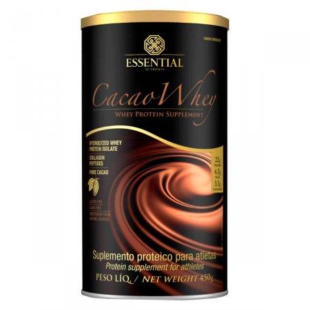 Suplemento Proteico Cacao Whey Essential Nutrition Chocolate