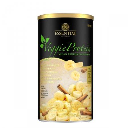 Suplemento Veggie Protein Essential Nutrition Banana com Canela