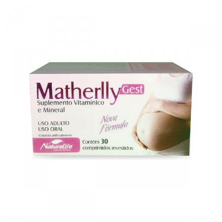Suplemento Vitamínico e Mineral Matherlly Gest