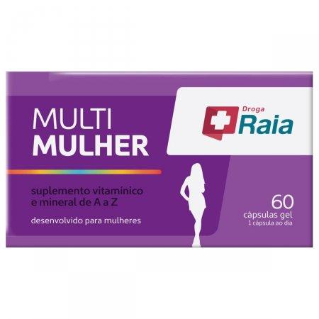 Suplemento Vitamínico e Mineral Droga Raia Multi Mulher