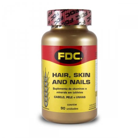 Suplemento Vitamínico Mineral FDC Hair, Skin and Nails