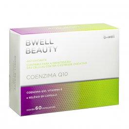 c9c12d0d8 B-Well Beauty Suplemento Vitaminico Coenzima Q10 60 Cápsulas