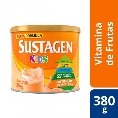 Complemento Alimentar Infantil Sustagen Kids Vitamina de Frutas