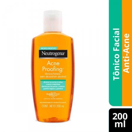 Tônico Facial sem Álcool Neutrogena Acne Proofing com 200ml