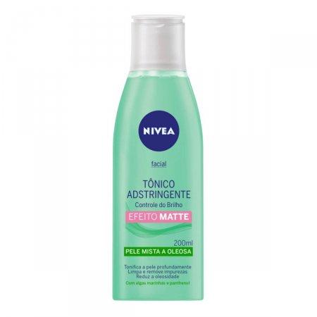 Tônico Adstringente Facial Nivea Pele Mista a Oleosa com 200ml