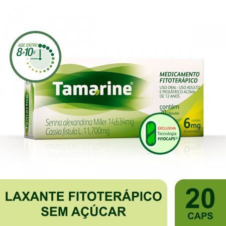 Tamarine 6mg 20 Cápsulas | Drogaraia.com Foto 2