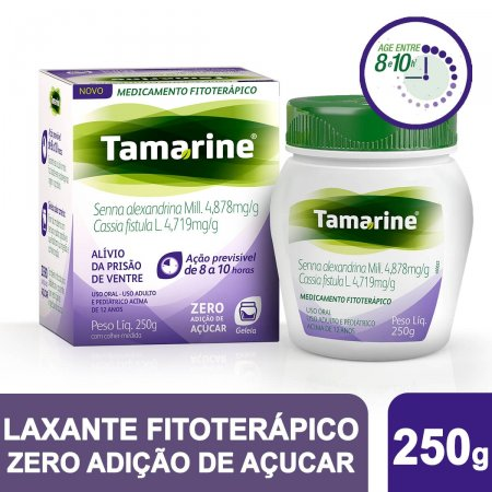 Tamarine Geléia Zero Adição de Açúcar 250g |