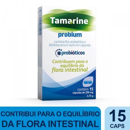 Tamarine Probium Com 15 Cápsulas   Drogaraia.com Foto 2