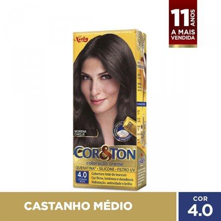 Tintura Cor&Ton Niely 4.0 Castanho Médio