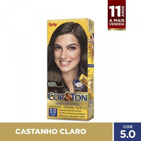 Tintura Cor&Ton Niely 5.0 Castanho Claro