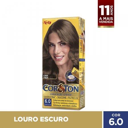 Tintura Cor&Ton Niely 6.0 Louro Escuro