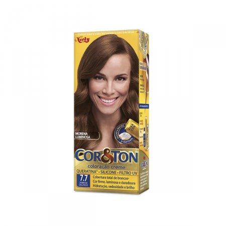 Tintura Cor&Ton Niely 7.7 Marron Dourado