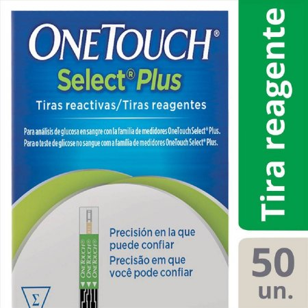 Tiras OneTouch Select Plus