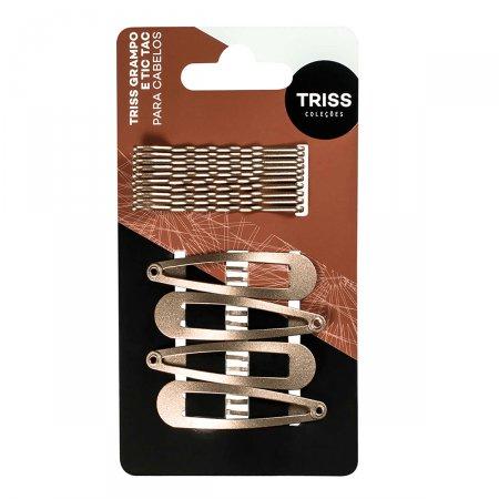 Kit Grampo Triss + Presilhas Tic Tac