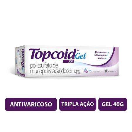 Topcoid 500 Gel com 40g