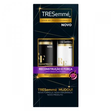 Shampoo Tresemmé Reconstrução e Força + Condicionador Tresemmé Reconstrução e Força