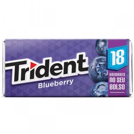 Goma de Mascar Trident Blueberry com 30,6g