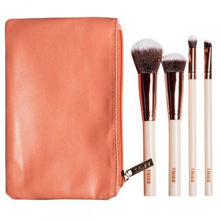 Kit Pincéis Médios de Maquiagem Triss + Necessaire Edição Limitada