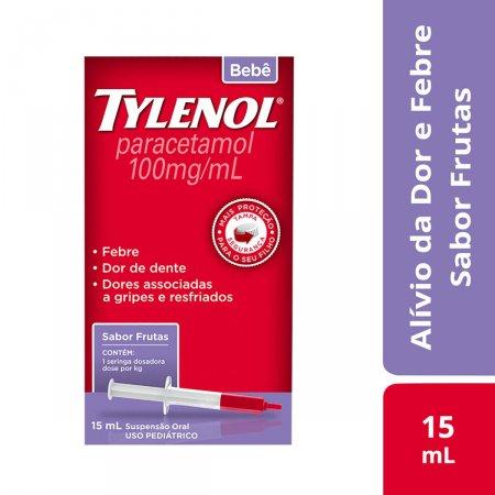 Tylenol Bebê 100mg/ml Suspensão Oral com 15ml