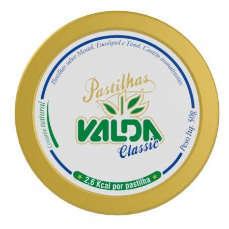 Pastilha Valda Classic com 50g