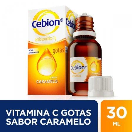 Vitamina C Cebion 200mgml Caramelo Gotas com 30ml | Foto 2