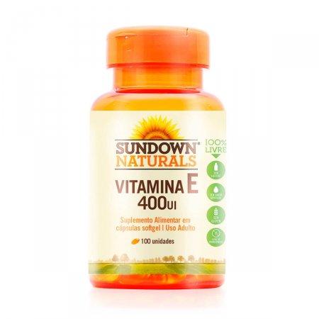 Vitamina E 400 UI Sundown com 100 Comprimidos | Foto 1